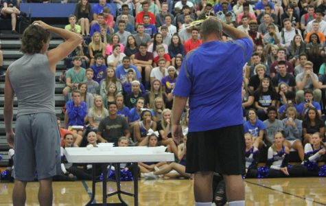 "Fall sports assembly provides ""egg""cellent entertainment"
