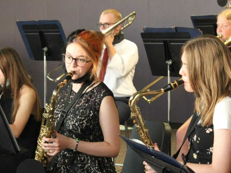 Music Department Kicks Off First Performance of the Year