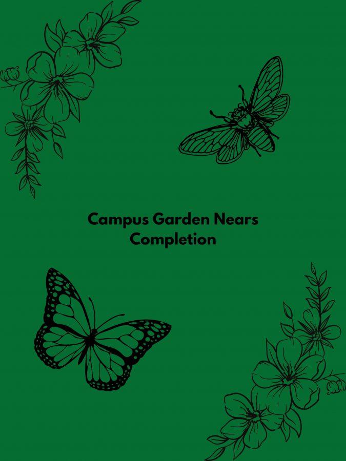 Campus Garden Nears Completion
