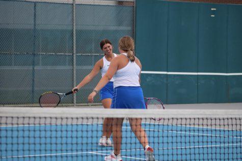 Girls Tennis Team Finishes Season